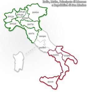 Distretti Rotaract di Italia, Malta, Principato di Monaco e Repubblica di San Marino
