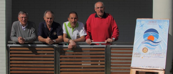 I responsabili del Camp: Otello, Vittorio, Mario e Luciano